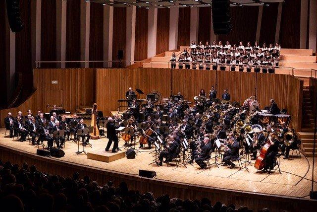 Archivo - Banda Sinfónica Municipal de València en una imagen de archivo.