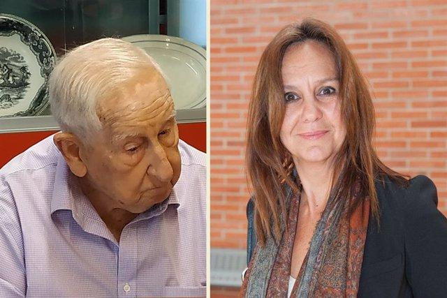 José María Rubio y María Dueñas