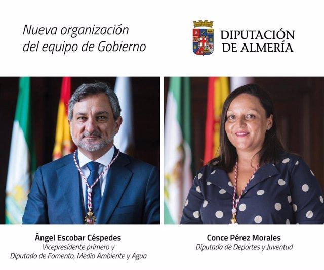 La Diputación de Almería reorganiza su equipo de gobierno