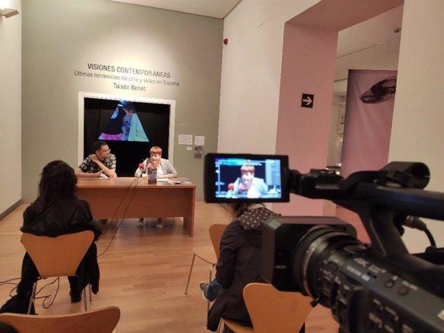 Presentación Del Ciclo De 'Visiones Contemporáneas' En El DA2 De Salamanca Con Trabajos De Tuixén Benet.