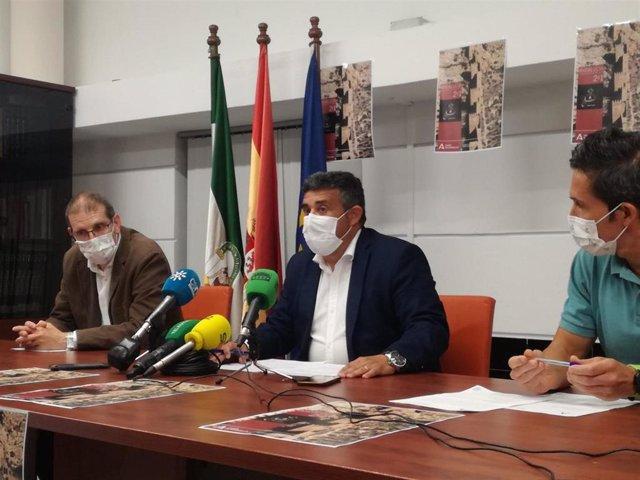 El delegado territorial de Cultura y Patrimonio Histórico en Huelva, José Manuel Correa.