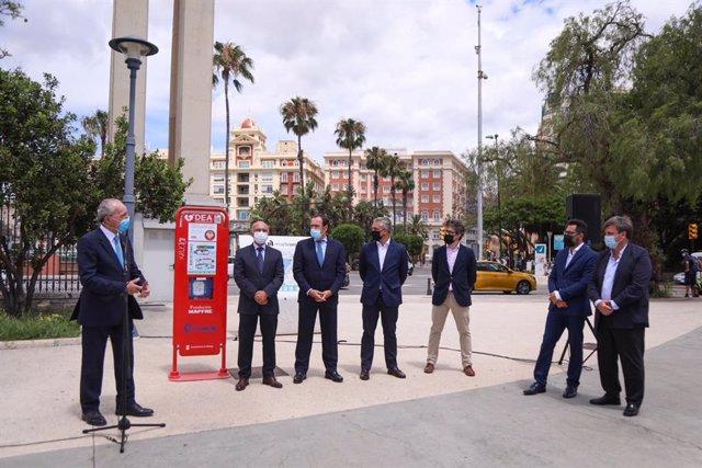 Desfibriladores en Málaga capital