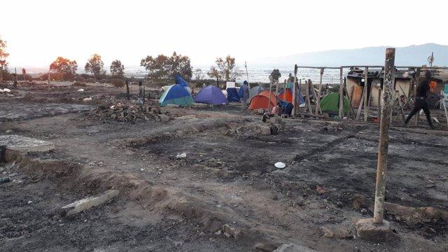 Archivo - Asentamiento de Atochares en Níjar (Almería)