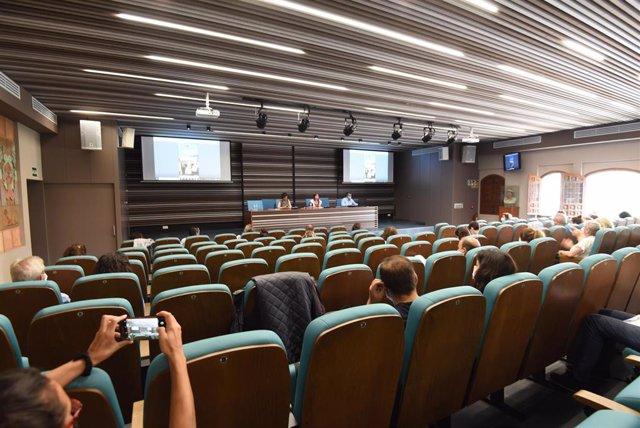 Reunión de la diputada de Turismo con responsables de ayuntamientos para dar a conocer la nueva herramienta digital de la Red de Centros de Interpretación de la Provincia