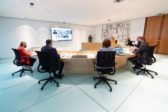 Feijóo preside el Consello de la Xunta.
