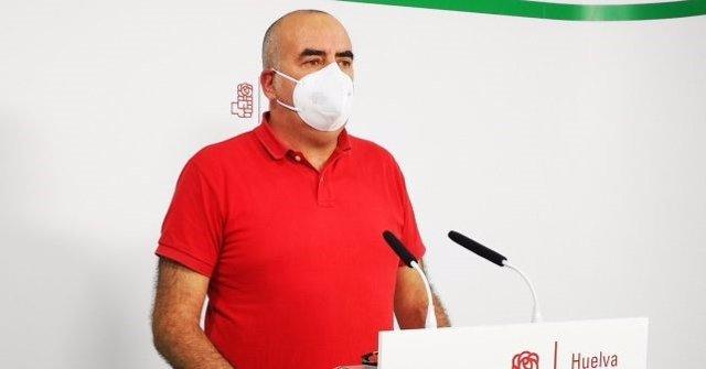 El responsable de Organización de la Gestora del PSOE de Huelva, Inocencio Forcén.