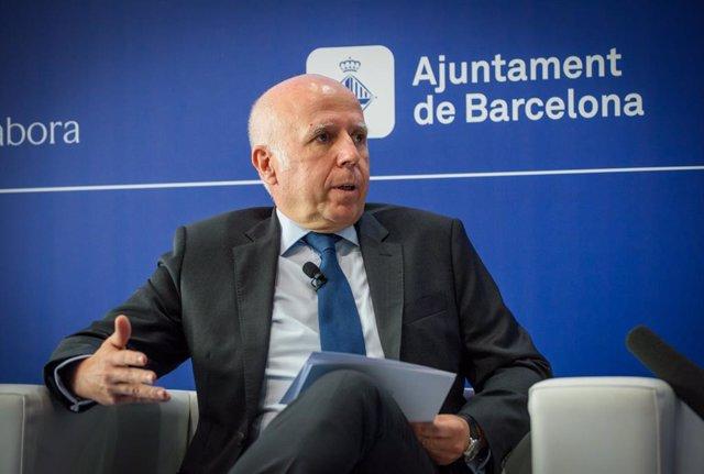 El president de KPMG a Espanya, Hilario Albarracín, en la Reunió del Cercle d'Economia.