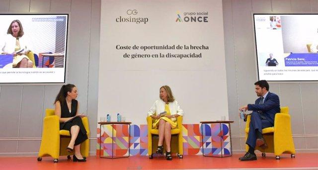 Presentación del último informe del clúster ClosinGap, que analiza la brecha de género en la discapacidad y que ha sido elaborado por Grupo Social ONCE en colaboración con Afi e ILUNION.