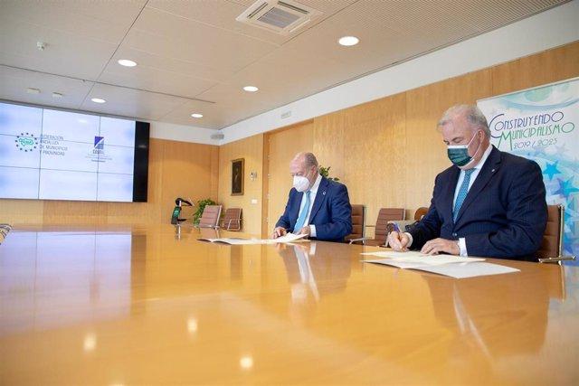 """FAMP y Cosital sientan las bases para """"una alianza estratégica"""" para el municipalismo"""