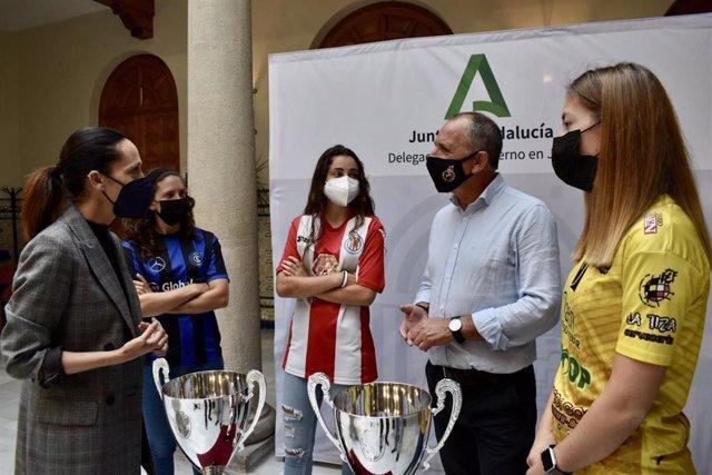 Encuentro con participantes en la Copa Delegada.