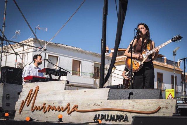 Archivo - Actuación en el marco del Festival Murmura de Almería