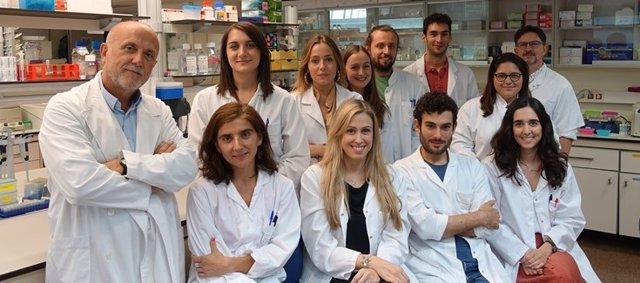 Grupo del CIBEREHD en la Universidad de Valencia coordinado por Juan Vicente Esplugues