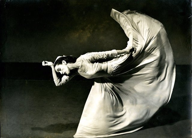 Imagen de la muestra de PhotoESPAÑA sobre la obra de la artista Barbara Morgan