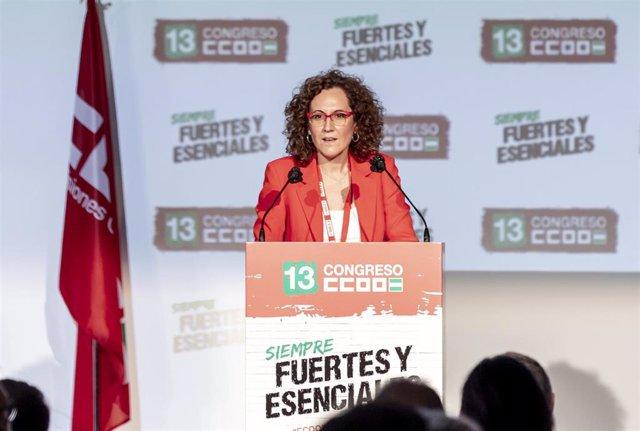 Nuria López, reelegida como secretaria general de CCOO-A