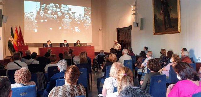 Acto de recuerdo a los miembros del Ayuntamiento de Sevilla de 1936 que fueron asesinados o represaliados