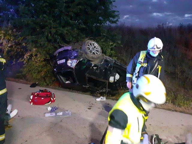 Accidente de tráfico en Pinto