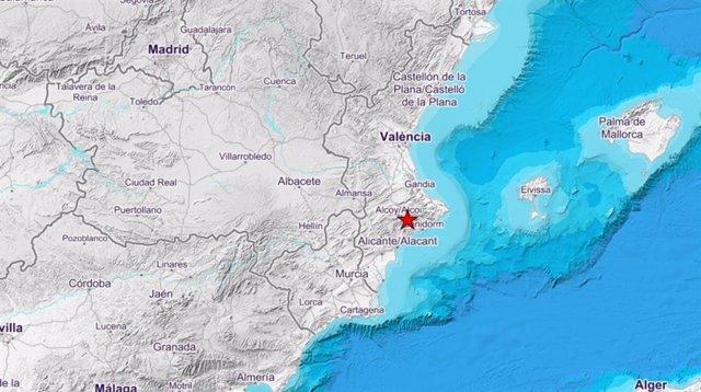 Moviment sísmic a Alcoleja