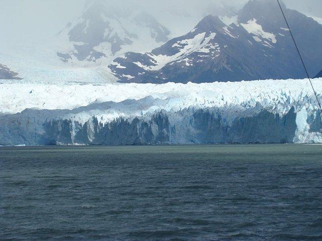 Frente de hielo del glaciar Perito Moreno