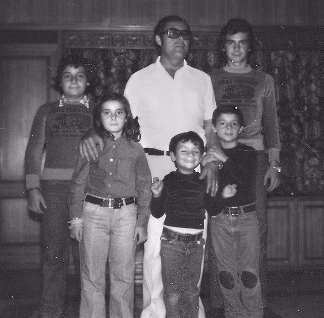 José Paredes Castaño en una imatge familiar