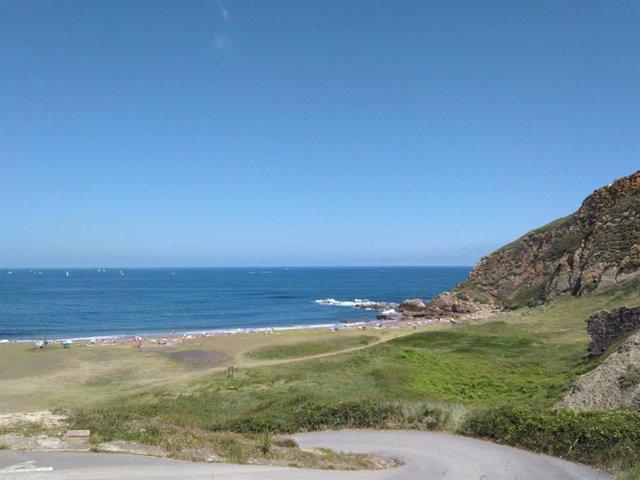 Archivo - Playa ded Bizkaia (archivo)