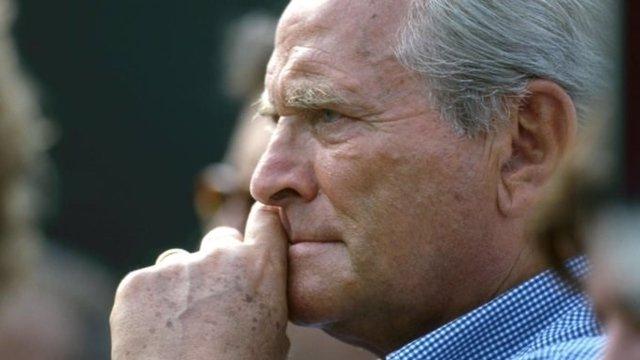 Archivo - Giampiero Boniperti, exjugador y expresidente de la Juventus