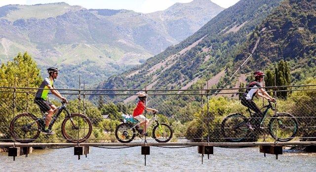 Boí Taüll ha dissenyat rutes amb bicicleta per aquest estiu.
