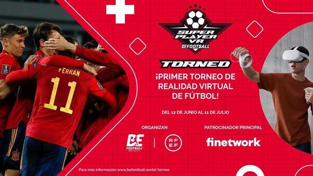 Nace el primer Torneo de Realidad Virtual de Fútbol con el impulso de la RFEF.