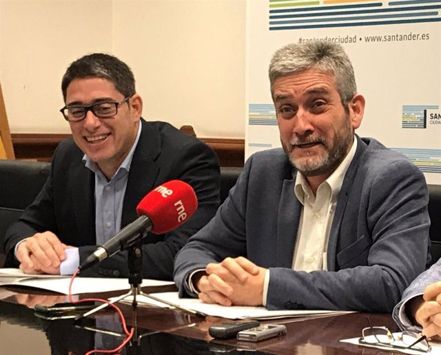 Archivo - Javier Ceruti y Felipe Pérez. Archivo