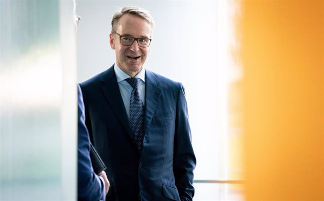 Archivo - 23 September 2020, Berlin: President of the Deutsche Bundesbank Jens Weidmann arrives for the weekly cabinet meeting at the Federal Chancellery. Photo: Kay Nietfeld/dpa
