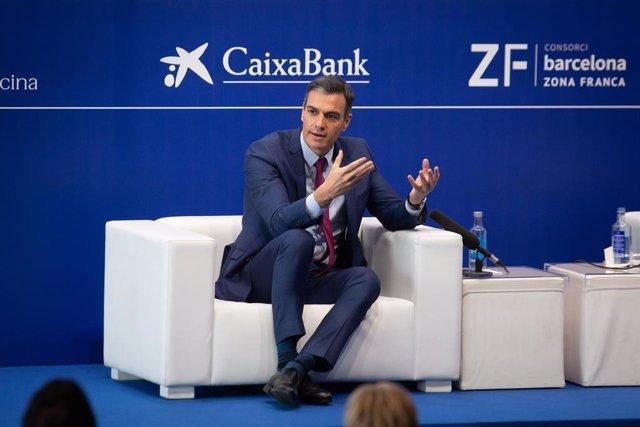 El president del Govern espanyol, Pedro Sánchez, intervé en la XXXVI Reunió del Cercle d'Economia.