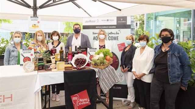 Presentación de la campaña 'Aquí se come bien' de ANAPEH y Reyno Gourmet