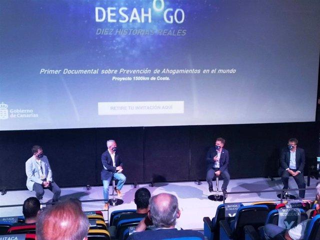 Acto de presentación del documental 'Desahogo'