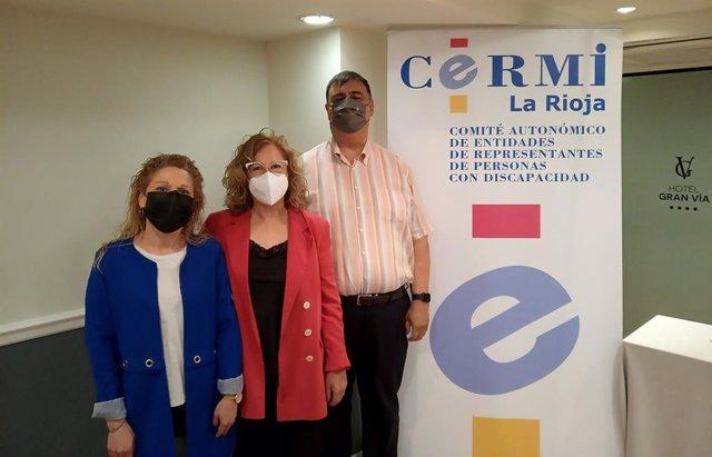 Responsables de CERMI-La Rioja