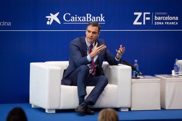 Clausura de la XXXVI Reunió del Cercle d'Economia a Barcelona amb el president del Govern espanyol, Pedro Sánchez.
