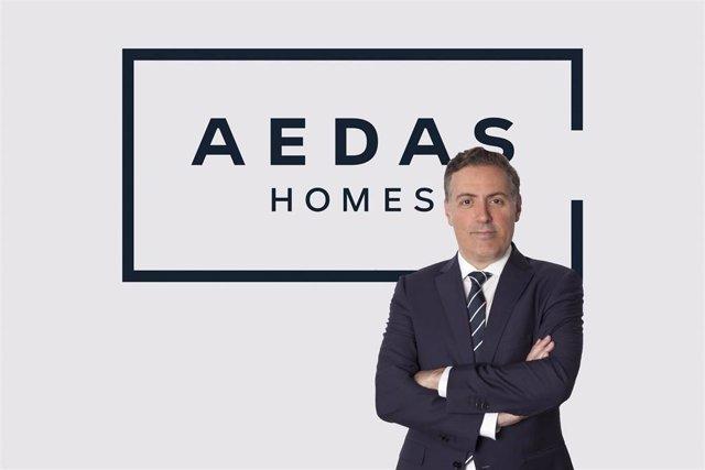 Archivo - David Martínez, CEO de Aedas Homes