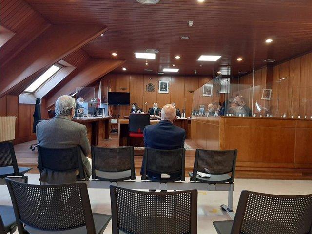 Archivo - Exalcalde de Noja Jesús Díaz en el juicio por el caso 'Nocanor'