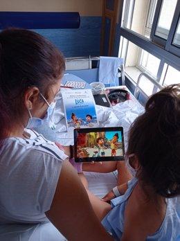 Menor hospitalizado en el Hospital Punta de Europa de Algeciras siguiendo el estreno de la película de Disney, Luca.
