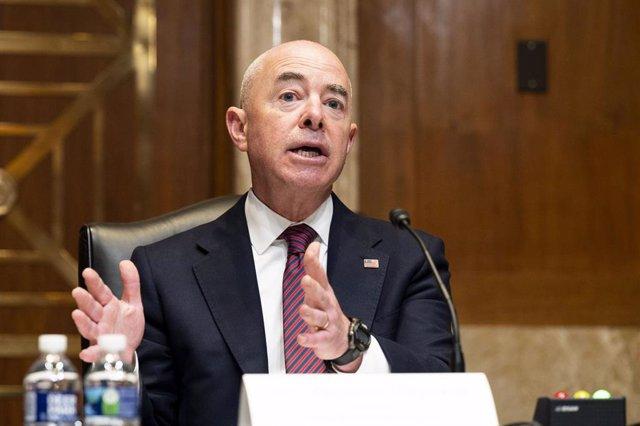 El secretario de Seguridad Nacional, Alejandro Mayorkas