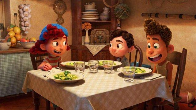 Imagen de la película 'Luca' de Disney Pixar.