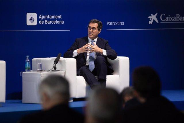 Arxiu - El president de la CEOE, Antonio Garamendi.