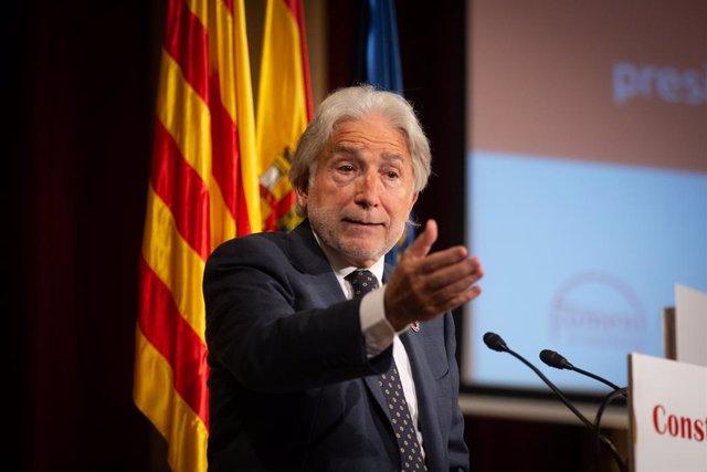 Archivo - Arxiu - El president de Foment del Treball, Josep Sánchez Llibre.