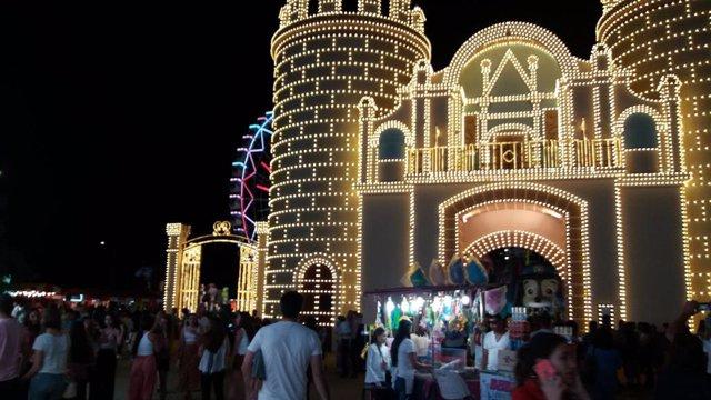Feria de Badajoz, en 2019.