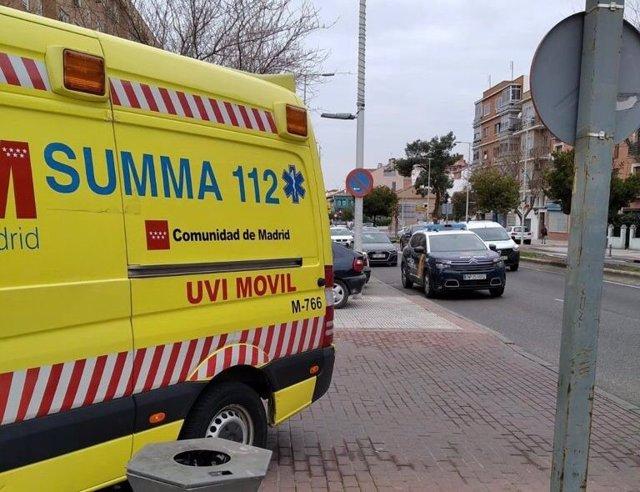 Archivo - Ambulancia del SUMMA 112