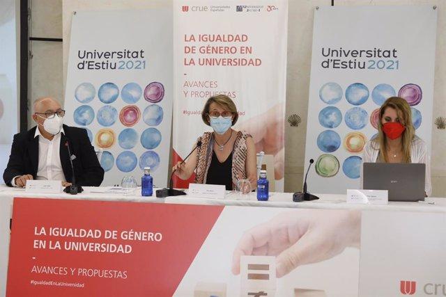 Clausura del curs d'estiu 'La igualtat de gènere en l'Universitat: avanços i propostes'