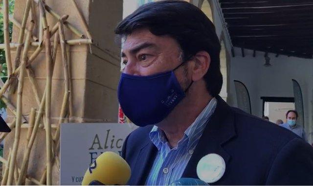 L'alcalde d'Alacant, Luis Barcala
