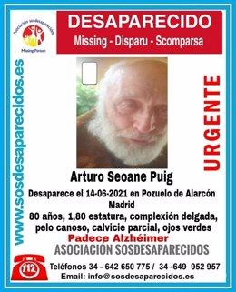 La Policía busca en el monte de Pozuelo a un anciando con Alzhéimer desaparecido desde el lunes