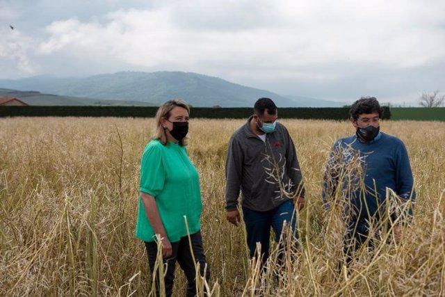 Visita de la consejera de Agricultura