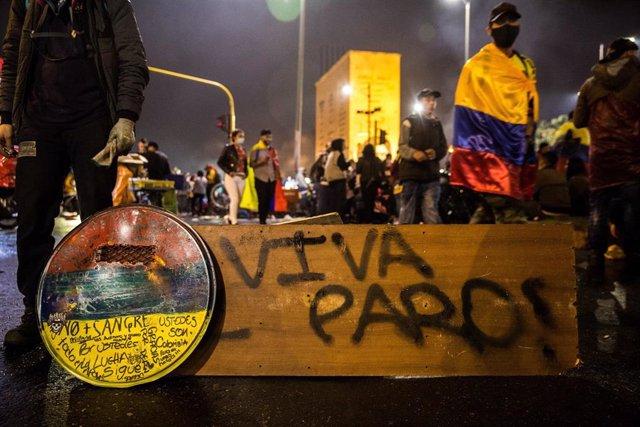 Manifestaciones contra el Gobierno del presidente Iván Duque en Colombia