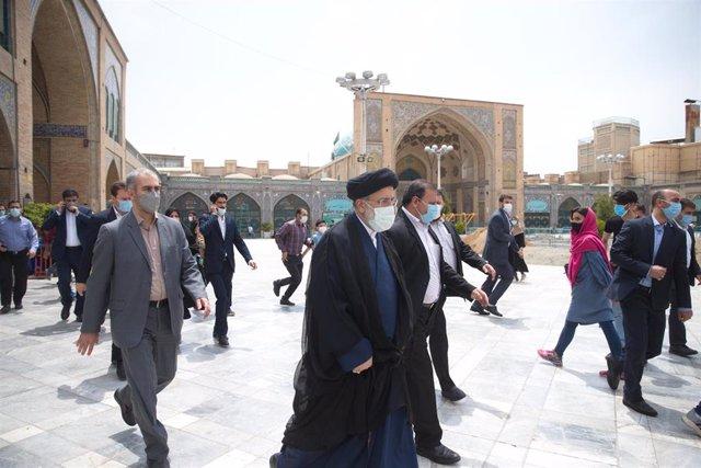 El jefe de la Judicatura iraní, Ebrahim Raisi