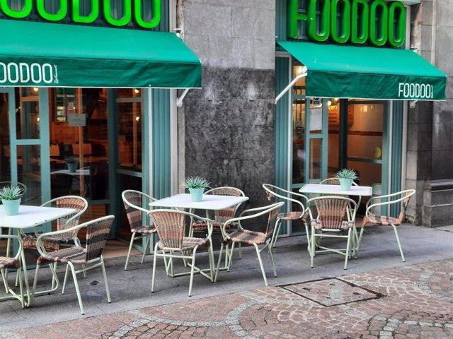 Archivo - Establecimiento de hostelería en Bilbao